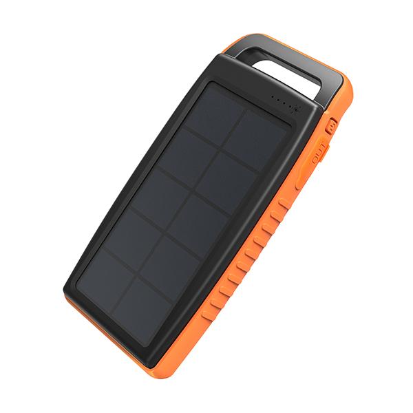1 - پاوربانک خورشیدی ۱۵۰۰۰ میلیآمپر روپاور مدل RP-PB003