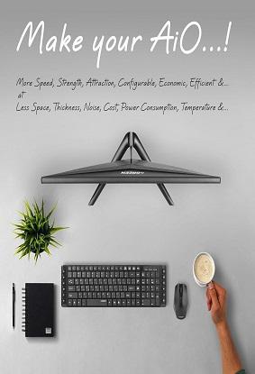 با PiO گرین، کامپیوتر آلاینوان خود را مدرنتر، زیباتر، قدرتمندتر و باریکتر بسازید...!