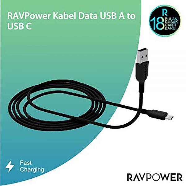 CB016 B 2 600x600 - کابل ۱ متری تبدیل USB به micro USB روپاور مدل RP-CB016