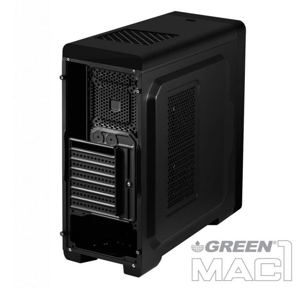 Mac1 backside view 600x573 - کیس کامپیوتر گرین مدل MAC1