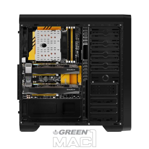 Mac1 side system asembel 600x600 - کیس کامپیوتر گرین مدل MAC1