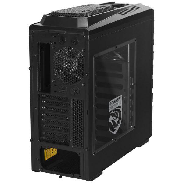 X3 Plus Viper Back 600x600 - کیس کامپیوتر گرین مدل X3 Plus Viper