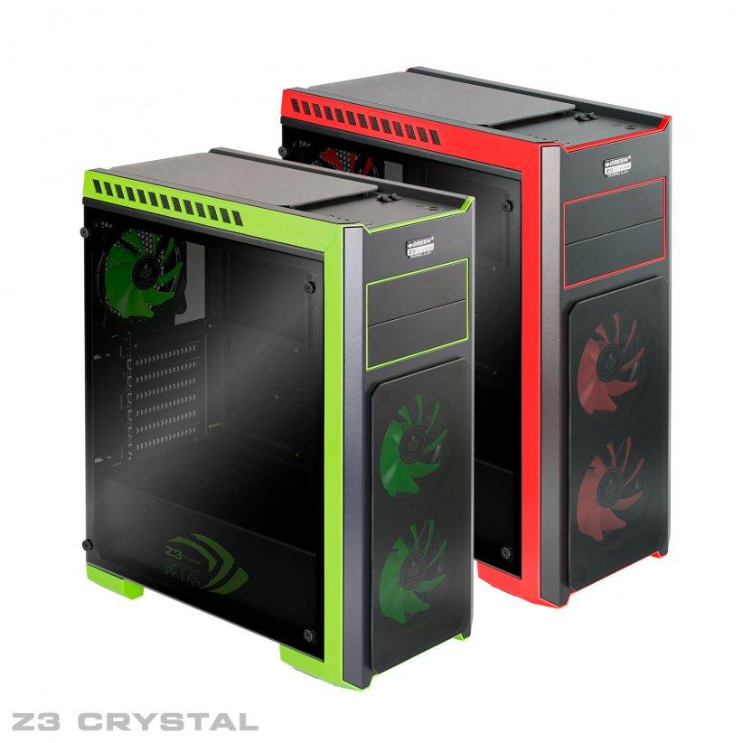 Z3 CRYSTAL 00 822x822 - کیس گرین مدل Z3 Crystal