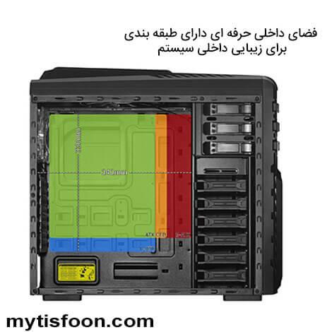 x3 mytisfoon - کیس گرین مدل X3 Plus Viper