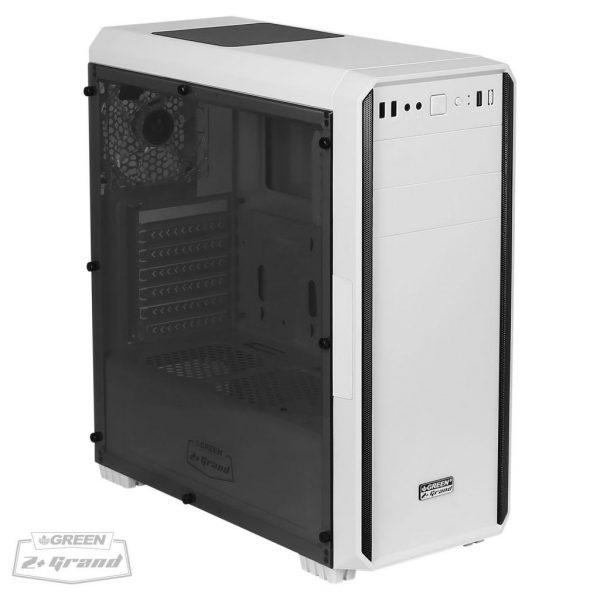 z plus grand white 01 600x600 - کیس کامپیوتر گرین مدل Z Plus GRAND