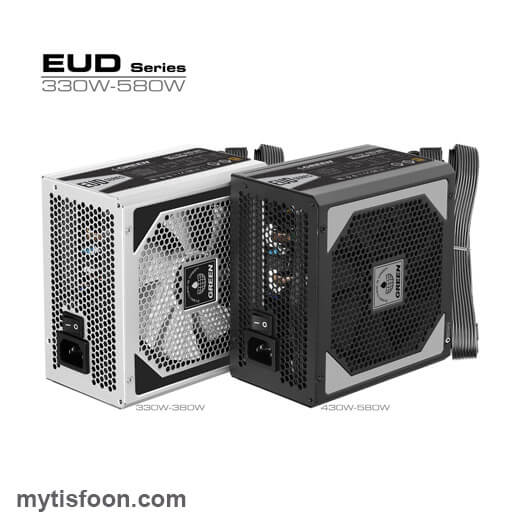 580EUD - منبع تغذیه کامپیوتر گرین مدل GP580A-EUD