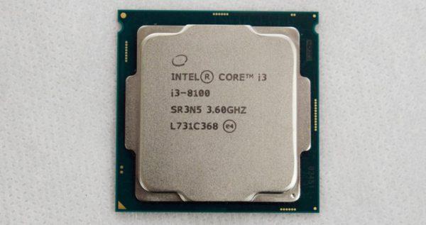 81003 600x317 - پردازنده مرکزی اینتل سری Coffee Lake مدل i3-8100