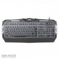 GK403 01 200x200 - کیبورد مخصوص بازی گرین مدل GK403
