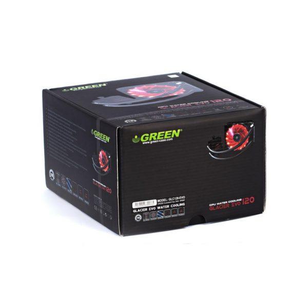 GLC120EVO GREEN Water Cooling 7 600x600 - خنک کننده آبی پردازنده (GLC120-EVO (GLACIER 120 EVO
