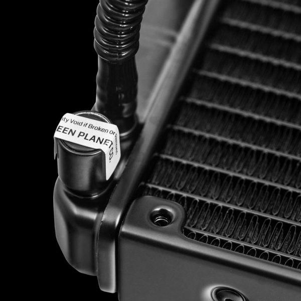 GLC360A GREEN Water Cooling 4 600x600 - خنک کننده آبی پردازنده(GLC360-A (GLACIER 360