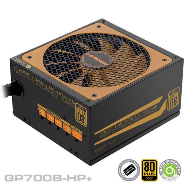 GP700BHP Plus 600x600 - منبع تغذیه کامپیوتر گرین مدلGP600B-HP Plus