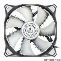 GREEN GF120FSB 120mm Silent Fan 01 200x200 - فن کیس گرین مدل GF120-FSB