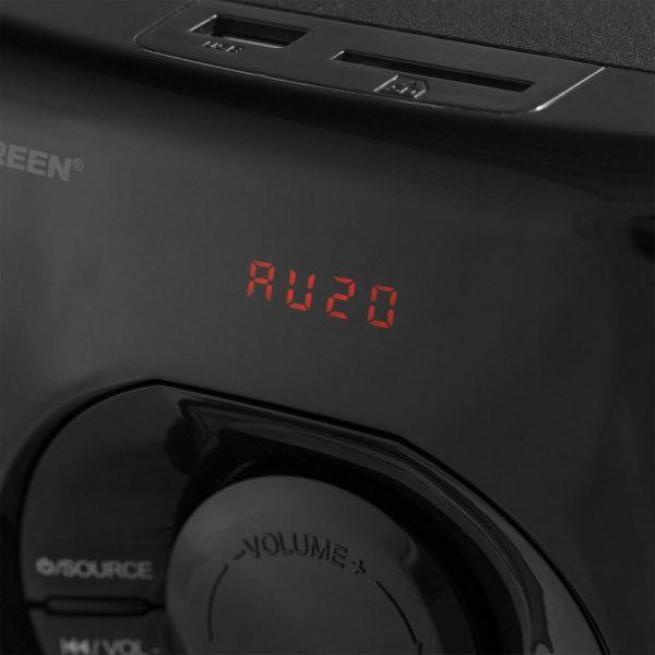 GS325R 2 600x600 - پخش کننده خانگی کامپیوتر گرین مدل GS325-R