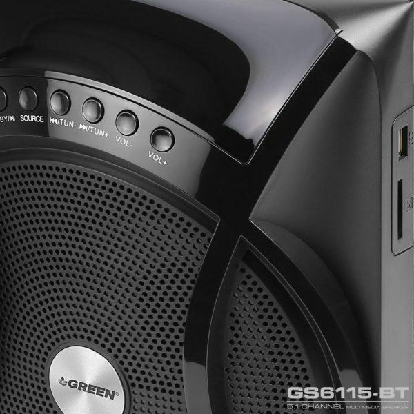 GS6115BT 115W RMS 5 1Channel Speaker 15 600x600 - اسپیکر دسکتاپ گرین مدل GS6115-BT