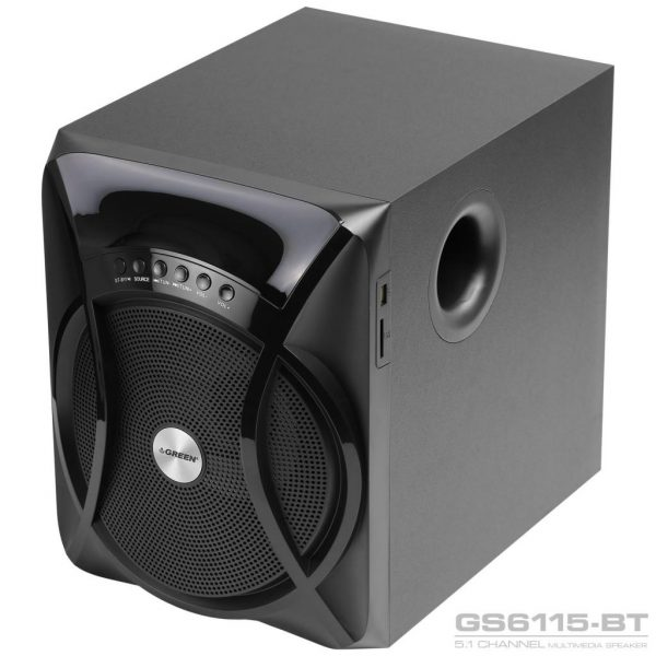 GS6115BT 115W RMS 5 1Channel Speaker 16 600x600 - اسپیکر دسکتاپ گرین مدل GS6115-BT