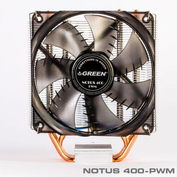 Notus400 PWM 4 600x600 - خنک کننده بادی پردازندهNOTUS 400-PWM