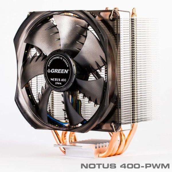 Notus400 PWM 9 600x600 - خنک کننده بادی پردازندهNOTUS 400-PWM