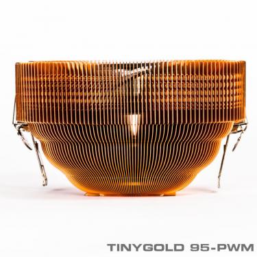 TinyGold95 PWM 6 375 375 - خنک کننده بادی پردازندهTINYGOLD 95-PWM