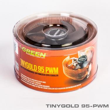 TinyGold95 PWM 9 375 375 - خنک کننده بادی پردازندهTINYGOLD 95-PWM