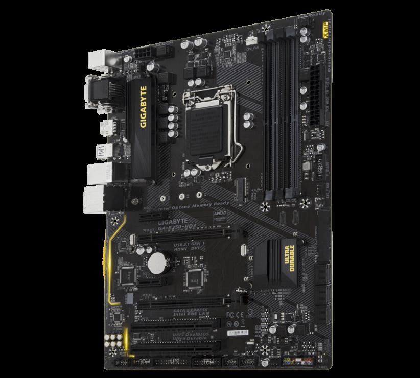 gamecorner ir 3f407c81ce89476e9c4ca3dac1f72502 product 822x740 - مادربرد گیگابایت مدل B250 HD3