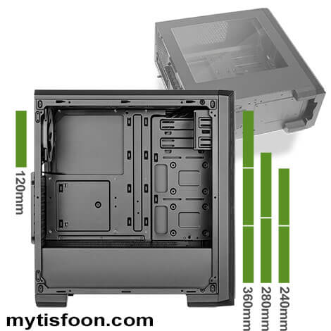 z1 casegreen - کیس گرین مدل Z1 ARIO
