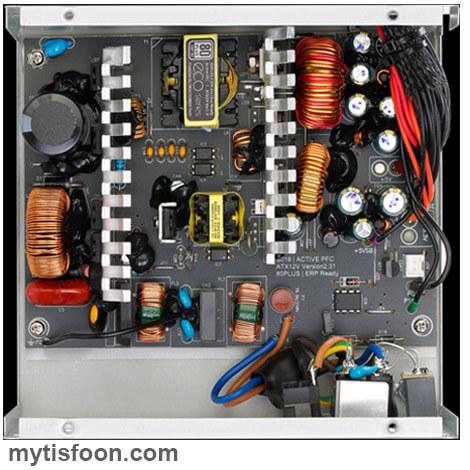 ECO2 400 - منبع تغذیه کامپیوتر گرین مدل GP400A-ECO