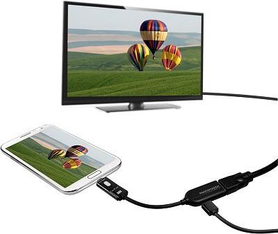 MHL Cable To HDMI Proview.MHL H.mytisfoon.0 - کابل ورودی HDMI به خروجی Micro USB پرومیت(MHL-H)