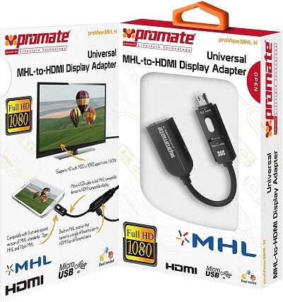 MHL Cable To HDMI Proview.MHL H.mytisfoon.1 - کابل ورودی HDMI به خروجی Micro USB پرومیت(MHL-H)