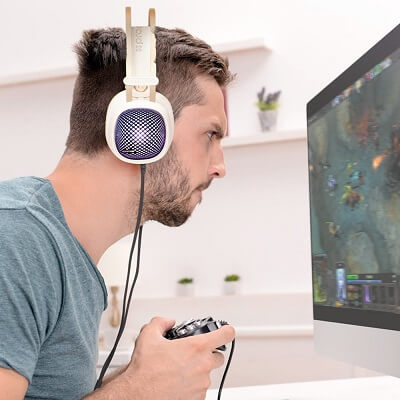 mytisfoon.com Gaming Headset Valiant.1 - هدفون روگوشی بسیار قدرتمند با درایور ۵۰ میلیمتری