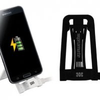 ن داک شارژ، یک نگهدارنده سبک است که گوشی درون آن قرار می گیرد و سوکت میکرو یو اس بی وارد پورت مخصوص گوشی شده و با اتصال کابل متصل به آن عملیات شارژ انجام می شود.