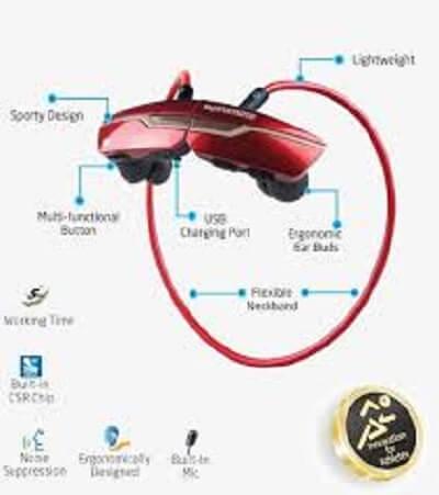 mytisfoon.com Wireless sport Handsfree Match.6 - هندز فری بی سیم ورزشی Match