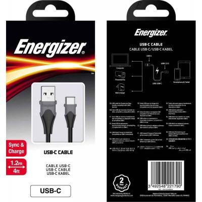 mytisfoon.com energizer cable lightning bicolor 12m black 5 - کابل لایتینگ انرجایزر مدل BICOLOR 1.2M