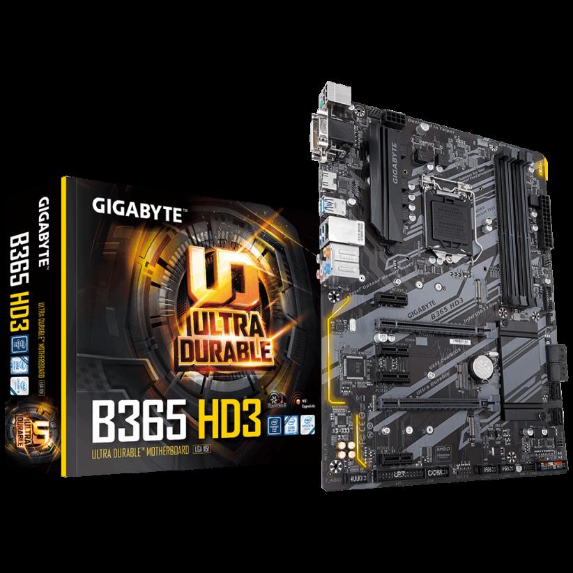 گیگابایت مدل B365 HD3 4 822x822 - مادربرد گیگابایت مدل B365 HD3