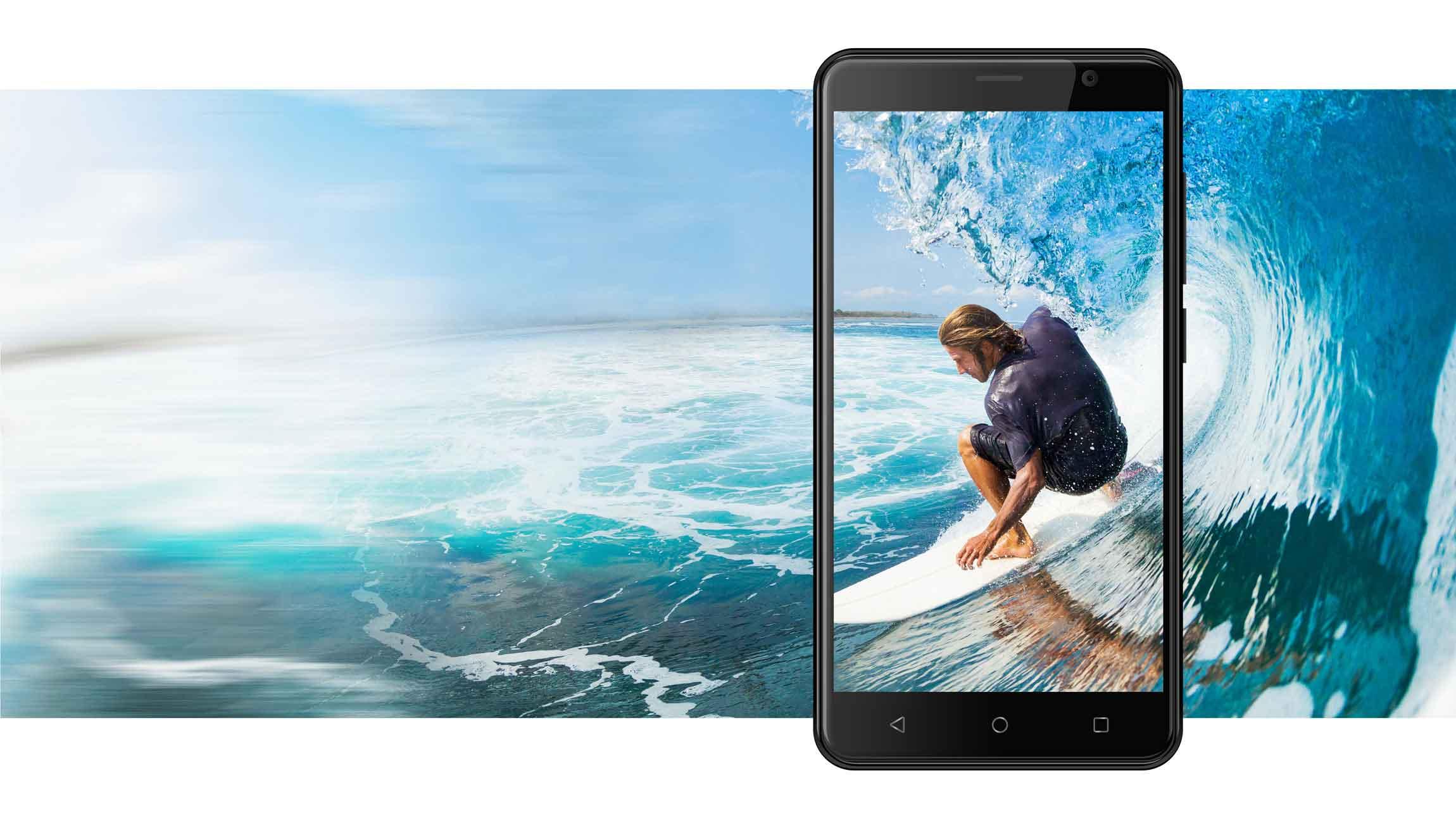 AT E500S screen - گوشی موبایل انرجایزر مدل Energizer Energy E500S با ظرفیت ۸ گیگابایت