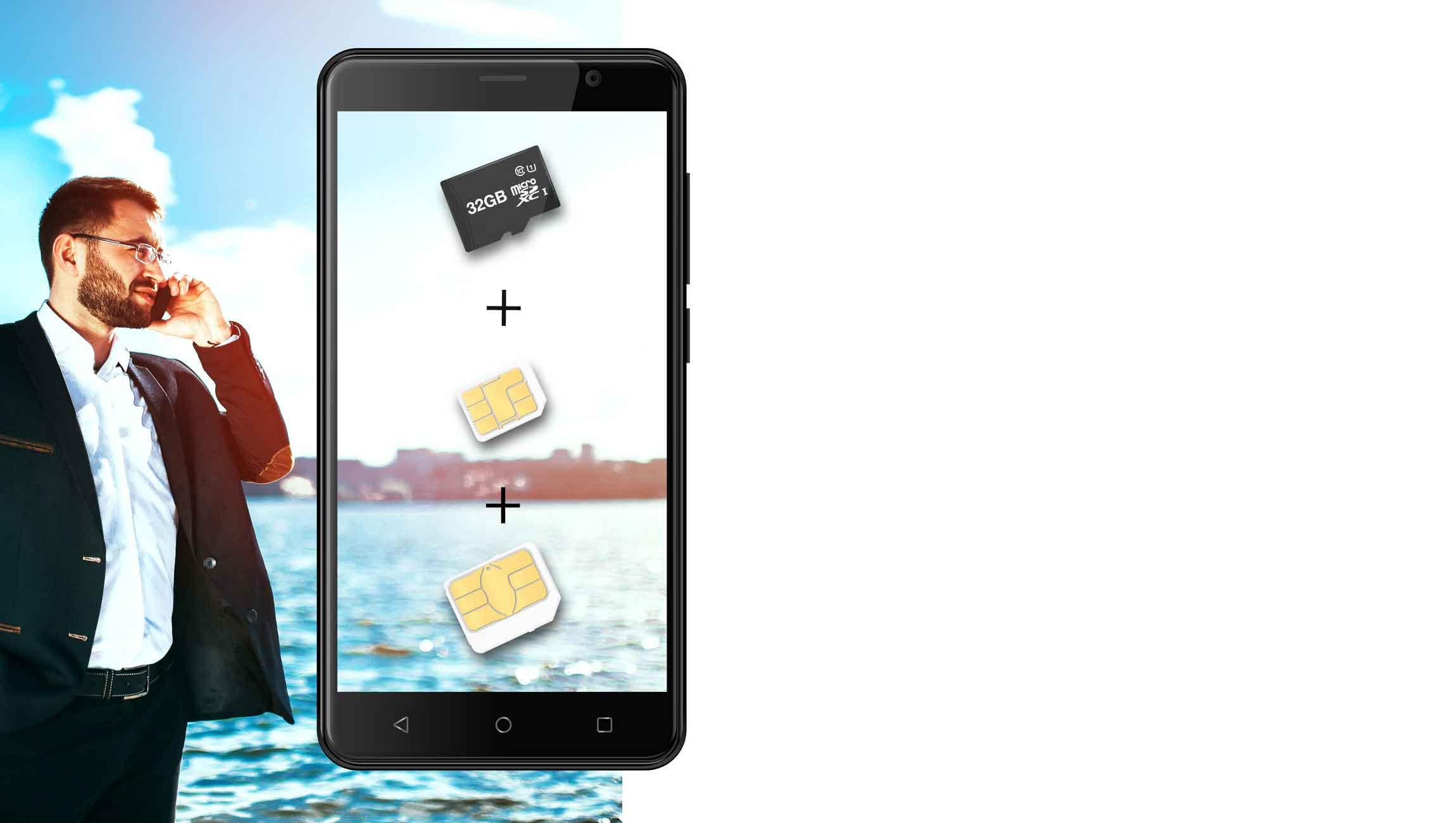 AT E500S sim - گوشی موبایل انرجایزر مدل Energizer Energy E500S با ظرفیت ۸ گیگابایت