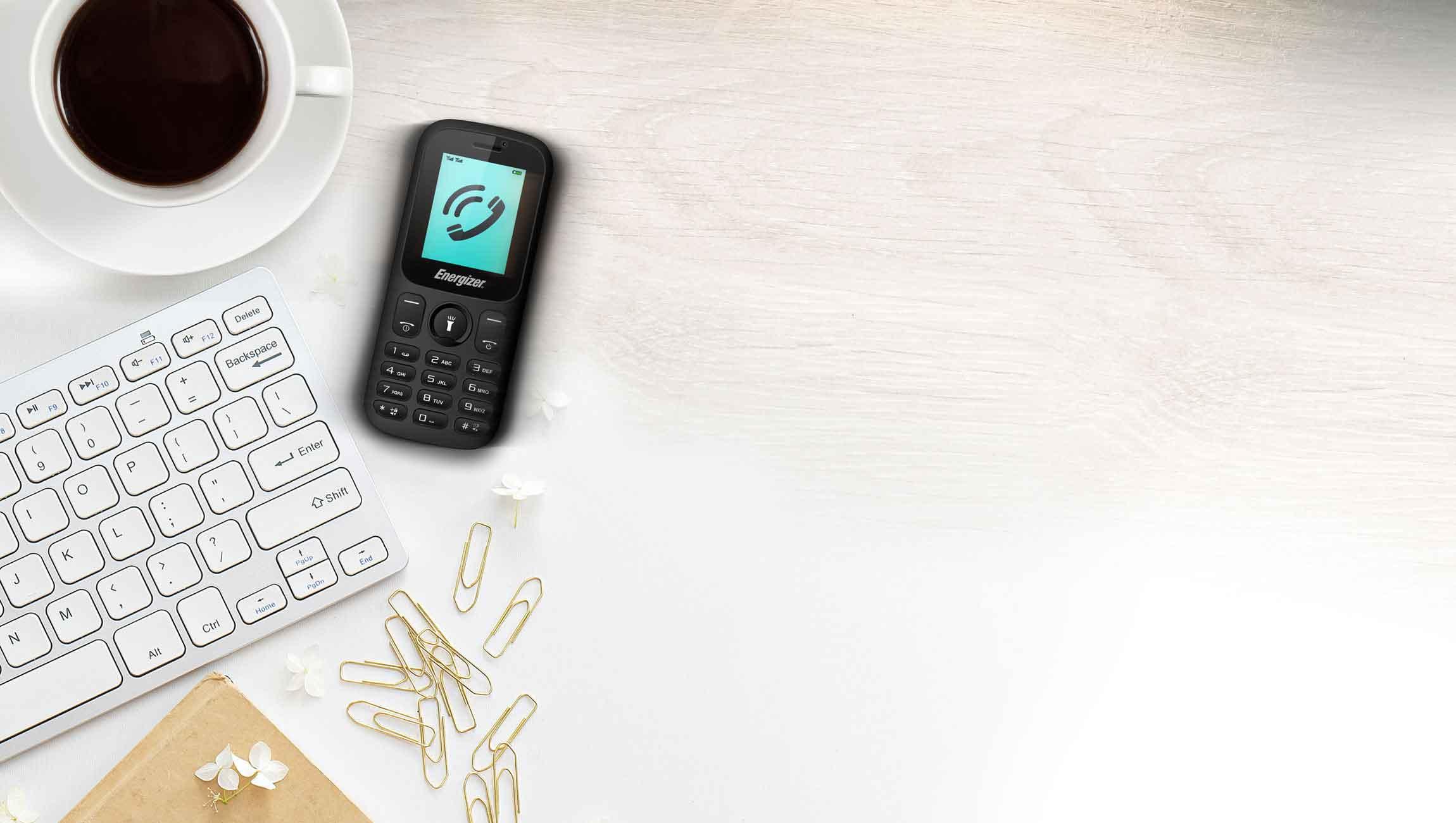 1 AT E10plus vibreur - گوشی موبایل انرجایزر مدل Energy E10 Plus دو سیم کارت