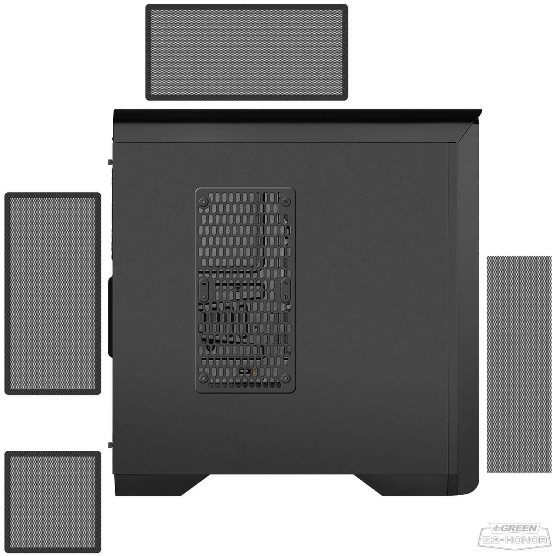 1 Z2 Honor 20 - کیس کامپیوتر گرین مدل Z2 Honor
