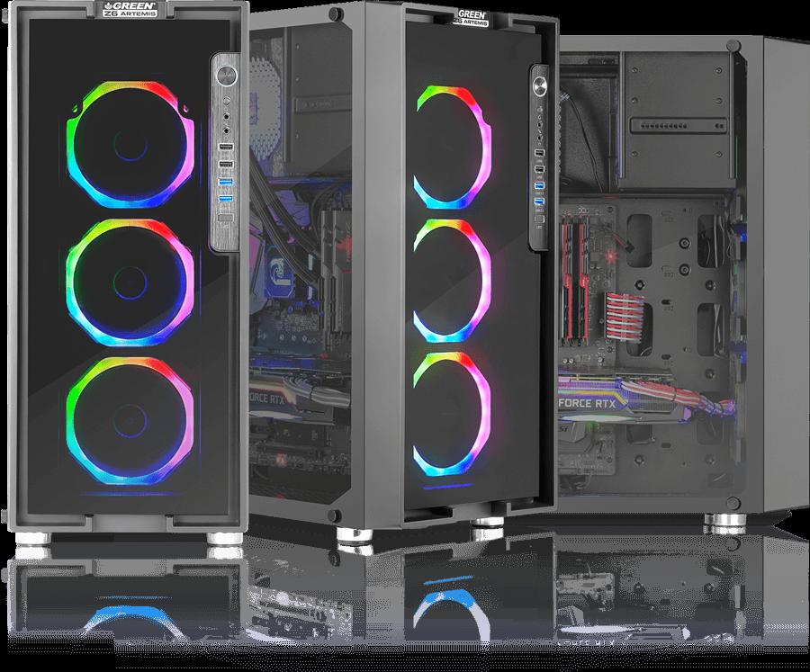 GREEN Z5 SURENA OV002 F - کیس کامپیوتر گرین  Z6 ARTEMIS