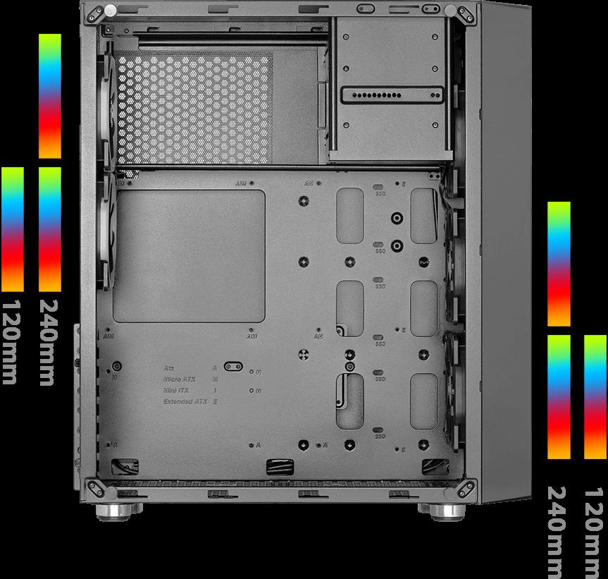 GREEN Z6 ARTEMIS OV07 - کیس کامپیوتر گرین  Z6 ARTEMIS