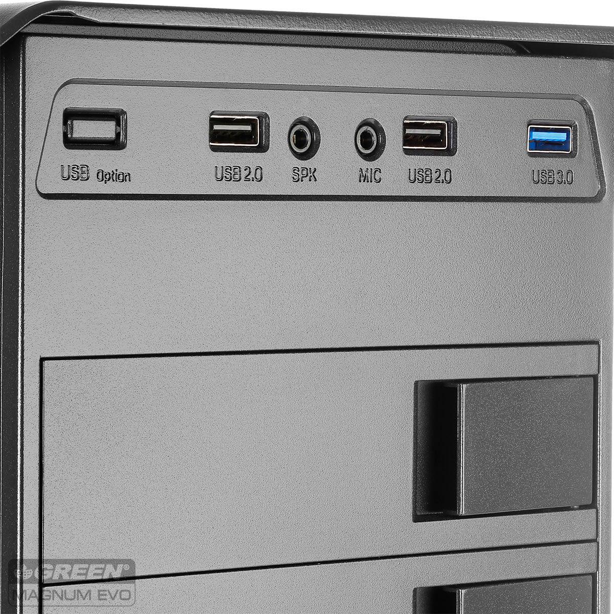 Magnum Evo 10 - کیس کامپیوتر گرین مدل Magnum Evo