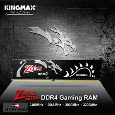 رم کینگ مکس KINGMAX Zeus Dragon 16GB 3200MHZ