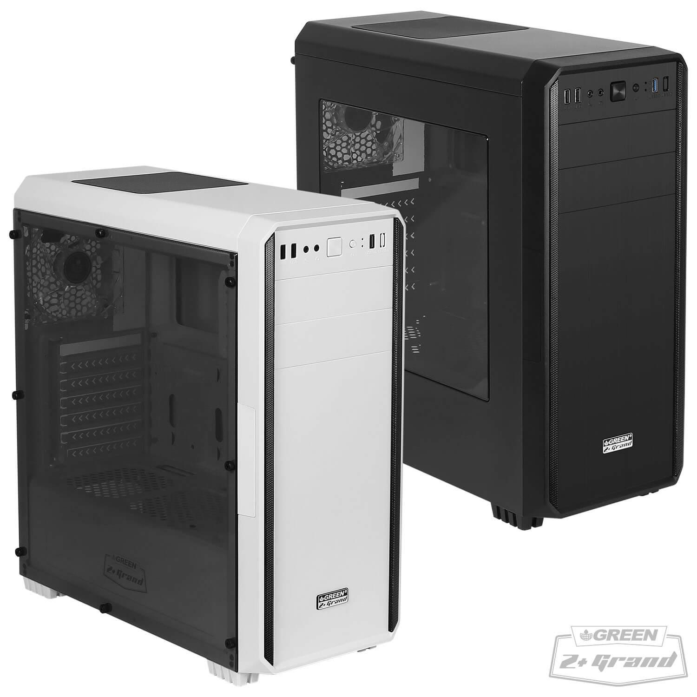 z plus grand - کیس کامپیوتر گرین مدل Z Plus GRAND