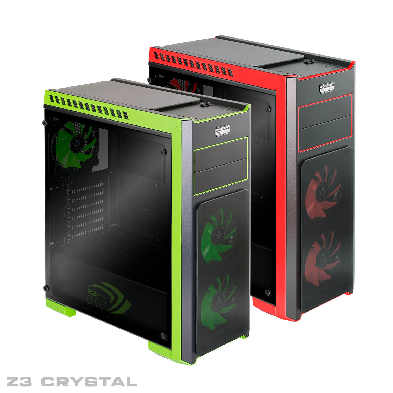 Z3 CRYSTAL 00 - کیس گرین مدل Z3 Crystal