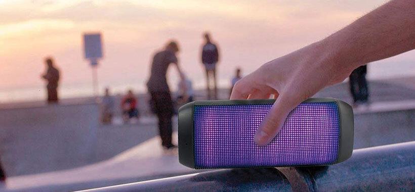 promate sense 2 - اسپیکر بی سیم پرومیت Promate Sense LED Wireless Speaker