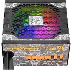 GREEN HP EVO 4 300x295 - پاورهای جدید سری HP EVO گرین با نورپردازی ARGB و استاندارد Intel ATX 12V 2.52 روانه بازار شدند