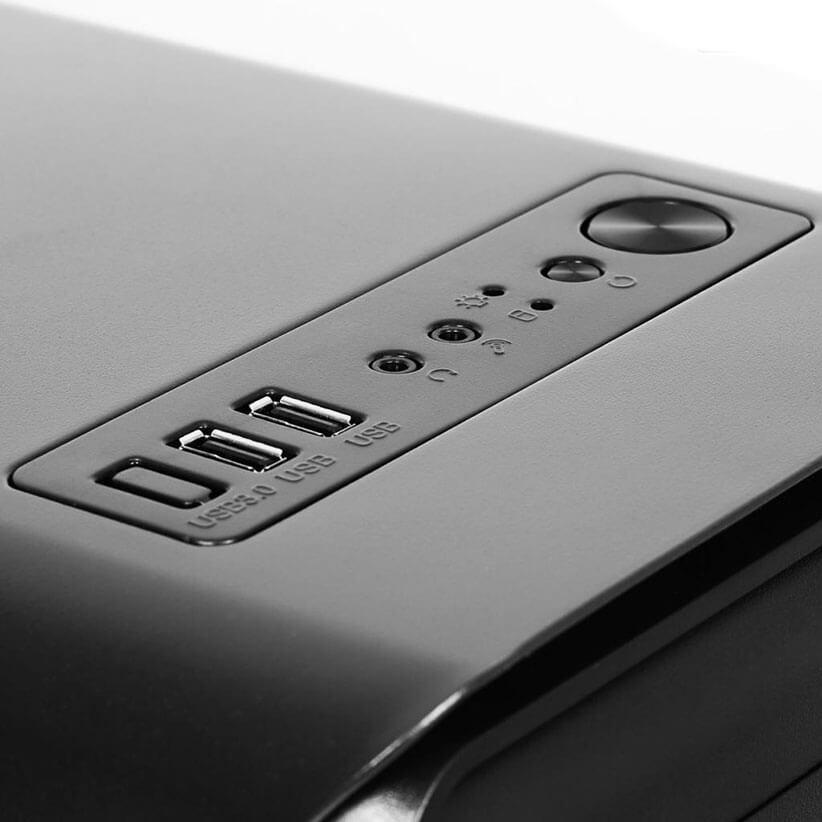 Hiwa PC Case 10 - کیس گرین مدل HIWA
