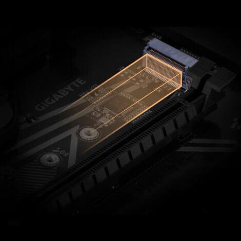 Z90UD D MYTISFOON M2 - مادربرد گیگابایت مدل Z490 UD