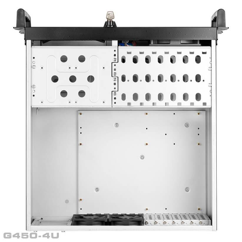 G450 4U 08 1 - کیس رکمونت گرین مدل G450 4U