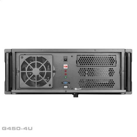 G450 4U 08s - کیس رکمونت گرین مدل G450 4U