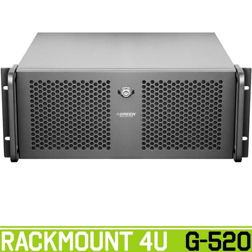 rackmount g520 view green - کیس رکمونت گرین مدل G520 4U
